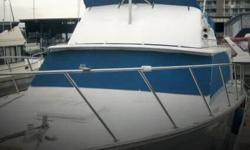 Actual Location: Seattle, WA - Stock #036199 - If you are in the market for a sportfish yacht, look no further than this 1974 Silverton 340 Convertible, just reduced to $34,500 (offers encouraged).This vessel is located in Seattle, Washington and is in