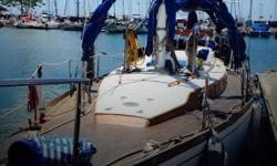 Actual Location: Honolulu, HI - Stock #057824 - If you are in the market for a yawl sailboat, look no further than this 1975 Cheoy Lee 47 Yawl, just reduced to $59,800 (offers encouraged).This vessel is located in Honolulu, Hawaii and is in good