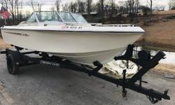 1975 Cobia Sportster. Interior and hull are in excellent condition. Perfect for a cruise on a lake, river, or bay. Nominal Length: 18'