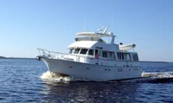 Price reduction shows owner's motivation! 58' Hatteras 58 LRC MASTERPLAN is under a captain's care with ongoing maintenance being performed routinely and is not only ready to go, but real ready to be sold! Heavily built, the Hatteras 58 LRC offers