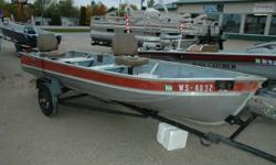 1975 Herter's 14' Fishing Boat Here is a nice fishing boat that is priced right. A great deal of fish and fun can be had in this package that comes with a trolling motor, fish finder and trailer. Engine(s): Fuel Type: Other Engine Type: Other Hours: 800