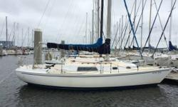 1975 Pearson 30 Sailboat Cygnet is a 1975 Pearson 30 located in Charleston SC. She has been owned by the current owner since 2009. Cygnet has competed yearly in both inshore and offshore races and has been competitive in her fleet. The boat was completely
