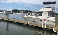 1975 Trojan Yacht F32 I have up for sale my 32ft Trojan with a skytop. The motors were rebuilt a few years ago and have low hours. Wiring harness redone over winter with 4 brand new batteries put in the spring. Many new parts on this boat. White exterior