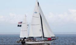 TOTAL RESTORATION - BETTER THAN NEW!!! FULLY LOADED... This Vagabond 47 was built in 1975 by Blue Water Yacht Builders Limited of Taiwan. She was designed by William Garden as a long keel offshore cruiser and was built of heavy hand laid fiberglass