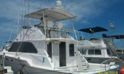 """1976 Bertram 46 Convertible located in S  THEY CALLED THEM """"BATTLE WAGONS IN THEIR DAY)--BUILT WHEN THY BUILT THE RITE-1976 MODEL-OVER 100 SQ FT FISHING COCKPIT-GREAT FOR FAMILY CRUISING OR CHARTER BOAT-MAKE $$$ WITH HER!!! DETROIT"""