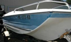 If you are looking for a project, here it is. You get the boat and trailer. - 1976 Crestliner 15' Tri-Hull Nominal Length: 15' Stock number: WS2275KD