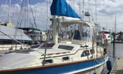 1987 Irwin Yacht 38SL CC MK II Turn key ready to sail and travel or live aboard Sea Castle II is the best of Ted Irwin Yachts designs for comfortable cruising Current Slip is available in the finest marina on the East Coast Halifax Harbor Marina in