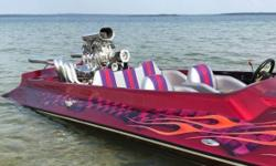 1997 Imperial Pickle Fork Jet Boat 19ft 19ft Imerial Pickle Fork Tunnel Hull Jet Boat- 454 Big Block with blower - Professionally built by (Big Als) Blower motors of Connecticut - Motor has less than 5 hours of use - All paperwork for motor work is