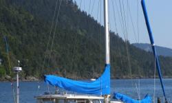 Ad Id # 106177768. Fast strong 20 ton blue water cruising yacht easily handled by two persons. Windward performance is excellent even in light air. But because of her ultimate stability, she stays dry and comfortable even in heavy winds