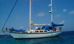Dinghy davits, kiss generator, radar, Phasor 6.5kw genset,inverter, GPS, Simrad autopilot, new stackpack main, 1 mizzen sail and two jib sails in good condition, new paintjob....much more see her at www.prospectlearning.com/sorrento.htmlContact: