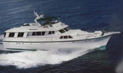 1977 Hatteras 70' Motor YachtTotally Overhauled in1998 and extendedto 80 ' in 2000 at the St. Augustine Yard. My Emeralds is a beautifully maintained and unique yacht. Features include: Lower and upper helm stations with full array of