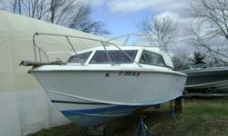 Chris Craft Catalina 251 Cruiser with Volvo Penta 260 HP. Chevy 305 inboard. Seawater Cooled with flushing system.  Galley with stove, head, Teak swim platform; and more. Prop and Shaft were replaced around 2012. Rewired 2012 New bottom paint and