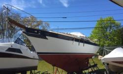 This is a very comfortable and easily handled cruising  boat. She has full headroom throughout and would be  great for a small family or a couple. She is very well equipped with good sails and ground tackle. The windlass makes anchoring and