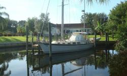 (LOCATION: Fort Myers FL) This Hallberg-Rassy HR 41 ketch has the classic Olie Enderlein design and comfortable accommodations.She has a spacious cockpit, large salon with full galley, and two private staterooms. Whether you are planning a weekend