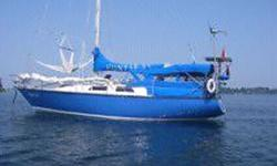 1977 Hunter Mariah 33 SL Year Built - 1977 Manufacturer - Hunter Mariah Marine Model - 33 SL Vessels Name - High Life Ballast - 4000 pounds Overall Length - 33 feet LWL - 28 feet Displacement - 10500 pounds Sail Area - 450 sq ft Beam - 9.6 feet Draft - 5