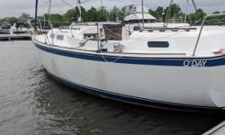 **** IN THE WATER CALL TO GO SEE THIS SAILBOAT ****1977, O-DAY, Sailboat, Fiberglass White, AFT Cabin, 6'4' Head Room, Center Cockpit, Water Tank 40 Gal., Fuel: 28 Gal., Beam: 10' 6', Net Weight: 11,050 lbs., Water Line Length 27'4', Some Construction