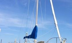 1977 ODay 25 Weekender ODay 25 Weekender 412 foot keel 1977 9.9 Yamaha Outboard Long Shaft approx 12 hours. (2008) Stored warm and Serviced Riverside Basin GARMIN GPS Map 541s. UNIDEN Marine Radio. Trailer Available (ask for pricing) NEW Interior Cushions