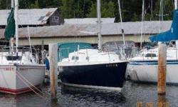 Price Reduced, This 1977 Pearson 28 is a chance to get into a good family sail boat, and an entry price. It is well equipped for day sailing, and overnight/weekending. It has an inboard Atomic 4, 30 HP motor. It has a mainsail, as well as a