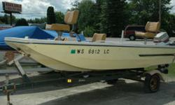 1977 Sea Star 15' Fiberglass Fishing Boat This fishing boat is in excellent condition!! Powered by an Evinrude 70 hp outboard, this boat will be a great investment when it comes time to take your best fishing buddy to the fishing holes you like best. At