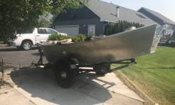 1978 Hyde XL 3.5HP motor and 7.0HP motor Length 14FT Aluminum boat Sears Gain engine Trolling motor Unit is located in Butte MT. Financing Nationwide Shipping and Warranties available to qualified buyers. Stock Number: B168159T Beam: 9 ft. 8 in. Hull
