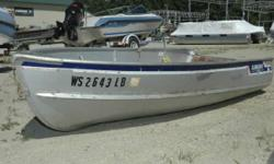 1978 Alumacraft 12' Row Boat A nice row boat for fishing or fun on the water! Engine(s): Fuel Type: Gas Engine Type: Other Hours: 300 Stock number: WS2643LB