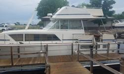Excellent opportunity for a Chris Craft classic! This Chris Craft 41 Commander is ready for a new owner to get it on the water! Equipped with a generator, twin 454 Crusaders, AC, and heat! Please give us a call and we can get you on the boat! Boat is on