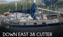Actual Location: Whittier, AK - Stock #055118 - This vessel was SOLD on August 3.If you are in the market for a cruiser sailboat, look no further than this 1978 Down East 38 Cutter, just reduced to $33,500.This vessel is located in Whittier, Alaska and is