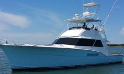 Hatteras 53 Convertible Sportfish located in St. Augustine, FL Complete refit in 2014.  One of a kind inside and out. A must see. Please call or email for complete listing of upgrades Nominal Length: 53' Length Overall: 53.6' Engine(s): Fuel Type: