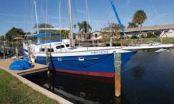 Excellent Live-a-Board or Down Island Cruiser Memory Foam Mattress in Master Stateroom New Main Mast and All New Standing Rigging in 2014 Bottom Peel (Gelcoat) in 2010 No Blisters! Perkins 4-236 (85hp) with less than 500 hours since Major Over Haul