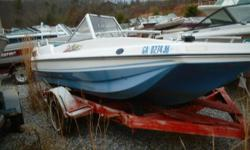 Project Bowrider Better hurry! Recycling begins in September. In need of complete restoration. The price is for the boat only. No engine or engine parts or trailer included. Our 15 acre boat yard has over 100 new trailers deeply discounted, over 250 used