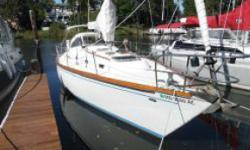 This classic Tartan 37 is a Sparkman & Stephens design and in absolutely wonderful overall shape for her age! The condition of the original gelcoat is amazing and is mainly due to the boat being covered and unused for 11 years prior to this owner