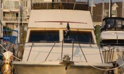 If you are looknig for an affordiable liveaboard, or just a spacious cruiser this is the boat for you. You will not find another 33 ft boat with as much room as the 33ft Voyager. She was repowered with two 310hp 5.7 Marine Power vortecs engines. With less
