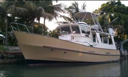 Description For full and complete specificationsClick Here Category: Commercial Boats Water Capacity: 200 gal Type: Trawler Holding Tank Details:  Manufacturer: FISHER MARINE Holding Tank Size:  Model: Pilothouse Passengers: 0 Year: 1979 Sleeps: 0