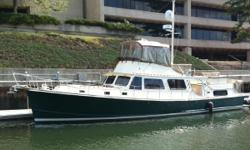 """One of a kind! Originally """"Blue Dolphin"""", this was the boat that not only formed Thomaston, Maine's custom builder Lyman Morse, but it put them on the map! Now """"Conmara"""",this timeless design is rich in history and beauty. This is a well cared for yacht"""