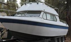 1979 Apollo Custom Built Details- V-8 Inboard The engine was recently rebuilt as well as steering and electrical It has a built in bait tank Outfitted to have a small bathroom All chrome was custom designed It comes with all parts and accessories