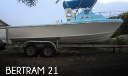 Actual Location: Kailua Kona, HI - Stock #080810 - If you are in the market for a sportfish yacht, look no further than this 1979 Bertram 21, priced right at $23,500 (offers encouraged).This boat is located in Kailua Kona, Hawaii and is in good condition.