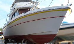 Bargain Price.. Runs OK Bring your checkbook and run her home! One of the smaller flybridge boats produced in recent years, the Cruisers 288 Villa Veecombines a sporty profile with upscaleaccommodations and solid performance. This wasa