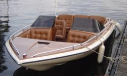 SALE PENDING 1979 GLASTRON 18 CVZ WITH MERCRUISER 898, CHEVY 305, 198HP. CLASSIC! Hull color: Brown Stock number: CON62