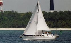 """Long Range Motorsailor Ultimate Comfort, Solid Sailing Performance Be sure to click on the walk-through video above!  The Gulfstar Sailmasters arewell known for their unbelievably roomy interiors. They boast 6'5"""" or more headroom"""