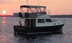 Remodeled classic Mainship MK1. This boat has all the great features Mainship built into its popular MK series; a 1979 hull known for fuel efficiency and sea-handling at less than half the price of a used more recent Mainship 34'. This is a unique