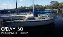 Actual Location: Green Cove Springs, FL - Stock #088918 - If you are in the market for a sloop sailboat, look no further than this 1979 O'day 30, just reduced to $9,500 (offers encouraged).This sailboat is located in Green Cove Springs, Florida and is in