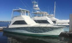 1979 Ocean 40 Super Sport located in St. Augustine, FL Galley down, two stateroom floorplan. Interior completely refurbished two years ago. Varnished wood floors in galley and hallway. Additional information and specifications coming soon