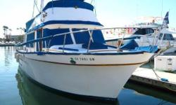 41' | PT 41 Trawler | 1979 Great live aboard or coastal cruiser! Priced to sell, owners want offers The beautiful teak interior of this trawler gives it that classic yacht feeling. The spacious salon and surprisingly big aft cabin make this yacht perfect