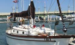 "Price reduced and firm at $40,000. In great shape, everything works--owner wants her sold! Vagabond"" is a rare Shannon 28 with a brand new Universal diesel engine and all the extras! She just retuned from a cruise and is eagerly awaiting her next"