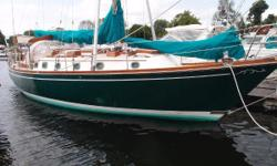 "BLUE WATER CRUISER ""those looking for an affordable older boat that is designed and built to be taken offshore"