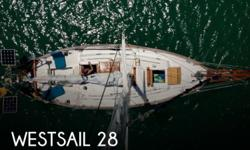 Actual Location: Honolulu, HI - Stock #082164 - Pristine Condition! Well Equipped and Ready to Sail Anywhere!This beautiful 1979 Westsail 28 is truly fully equipped and ready to go with thousands of dollars of extras to make any inter-island cruise or