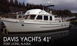 Actual Location: Port Lions, AK - Stock #080076 - If you are in the market for a trawler, look no further than this 1980 Davis Defever 41 Trawler, just reduced to $67,900 (offers encouraged).This vessel is located in Port Lions, Alaska and is in good