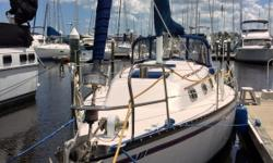 1980 Hunter 30 Cherubini 1980 Hunter 30 Cherubini model in great condition White fiberglass hull with a Blue Interior decor 30 feet in overall length Equipped with a brand new Propane LEHR motor In excellent condition both within and out as well! Brand