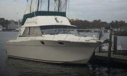 Actual Location: Brielle, NJ - Stock #110312 - If you are in the market for a sportfish yacht, look no further than this 1980 Silverton 34 Convertible, just reduced to $10,000 (offers encouraged).This vessel is located in Brielle, New Jersey and is in