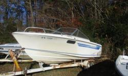 21 TA TRAILER FOR BOAT....MAKE OFFER...FAIR CONDITION... Nominal Length: 21' Length Overall: 21' Beam: 8 ft. 0 in.
